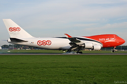 Boeing 747-4HA/F/ER/SCD TNT Airways OO-THA