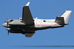 Beech C90A King Air  Atlantique Air Assistance F-GTCR