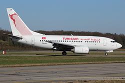 Boeing 737-6H3 Tunisair TS-IOP