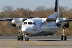 Fokker 50 CityJet OO-VLP