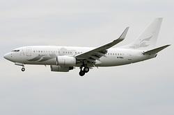 Boeing 737-7H/BBJ Global Jet Austria M-YBBJ