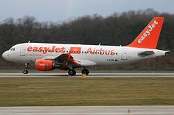 Airbus A319-111 easyJet G-EZBR