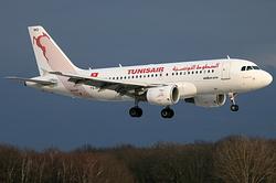 Airbus A319-112/ER Tunisair TS-IMQ
