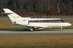 Raytheon Hawker 750 NetJets Europe CS-DUC