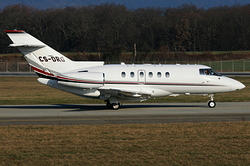 Raytheon Hawker 800 XP NetJets Europe CS-DRQ