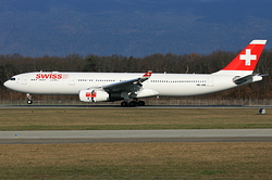 Airbus A330-343 Swiss International Air Lines HB-JHE