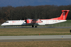 De Havilland Canada DHC-8-402Q Dash 8 Baboo Airways HB-JQB