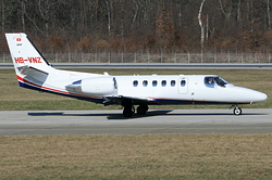 Cessna 550B Citation Bravo Jet Aviation Business Jets AG HB-VNZ