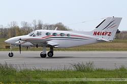 Cessna 414 Chancellor II N414FZ
