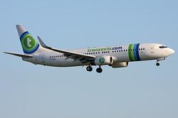 Boeing 737-85H Transavia France F-GZHN