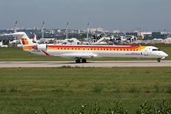 Bombardier CRJ-1000NextGen Iberia Regional (Air Nostrum) EC-LJX
