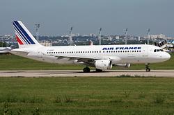 Airbus A320-211 Air France F-GHQC