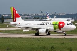 Airbus A319-111 TAP Portugal CS-TTA