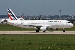Airbus A320-211 Air France F-GHQO