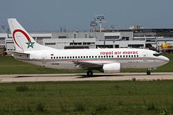 Boeing 737-5B6 Royal Air Maroc (RAM) CN-RNG