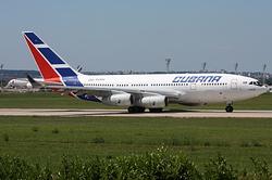 Iliouchine Il-96-300 Cubana de Aviación CU-T1251