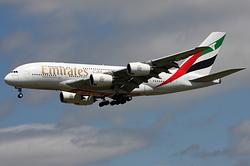 Airbus A380-861 Emirates A6-EDF