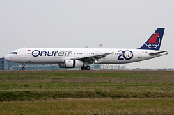 Airbus A321-231 Onur Air TC-OBJ