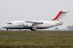 British Aerospace Avro RJ-85 CityJet EI-RJU
