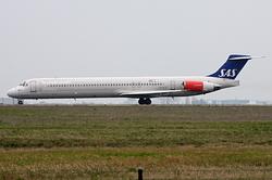 McDonnell Douglas MD-81 (DC-9-81) Scandinavian Airlines (SAS) LN-RLE