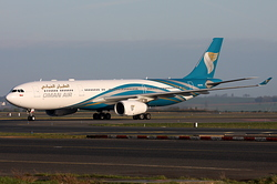 Airbus A330-343X Oman Air A4O-DE