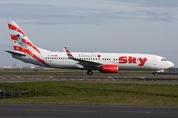 Boeing 737-83N Sky Airlines TC-SKR
