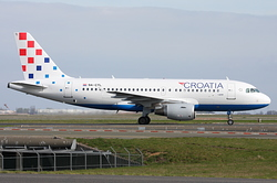 Airbus A319-112 Croatia Airlines 9A-CTL