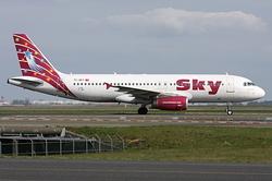 Airbus A320-232 Sky Airlines TC-SKT