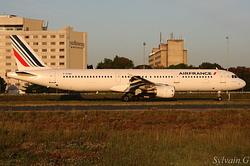 Airbus A321-211 Air France F-GTAH