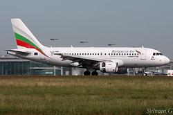 Airbus A319-111 Bulgaria Air LZ-FBF
