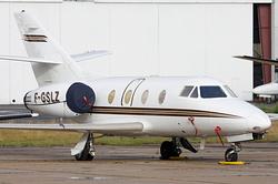 Dassault Falcon 100 Trans Hélicoptère Service - THS F-GSLZ