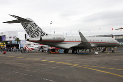 Bombardier BD-700-1A10 Global Express VistaJet OE-LGX