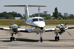 Beech B300 Super King Air 350 ADAC Ambulance D-CADN