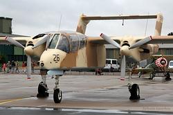 North American Rockwell OV-10B Bronco F-AZKM