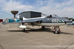 Hawker Hunter PR11 Royal Navy WT723 / VL-866