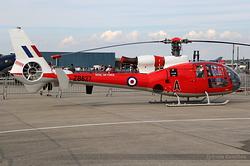 Aerospatiale SA-341D Gazelle HT3 Royal Air Force ZB627
