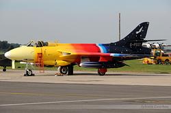 Hawker Hunter F58A G-PSST