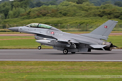 General Dynamics F-16BM Fighting Falcon Denmark Air Force 6G-11 / ET-614