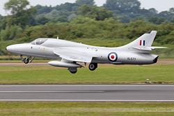 Hawker Hunter T8C Midair Squadron G-BXKF / XL577 / V