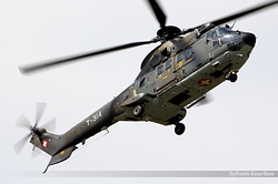 Aerospatiale TH89 Super Puma Switzerland Air Force T-314