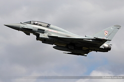 Eurofighter EF-2000 Typhoon T3 Royal Air Force ZJ801 / BJ