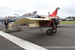Blériot XI & Rafale C