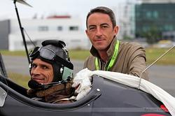 Un équipage heureux Vincent & Nico