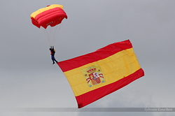 Spain Air Force Papea Parachute