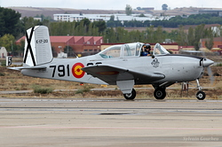 Beechcraft T-34A Mentor Spain Air Force E.17-20 / 791-20 / EC-GMD