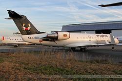 Canadair Regional Jet 200ER Air Uganda 5X-UGH