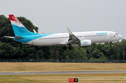Boeing 737-8C9(WL) Luxair LX-LGU