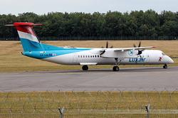 De Havilland Canada DHC-8-402Q Dash 8 Luxair LX-LGN