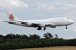 Boeing 747-4B5(BCF) Cargolux Airlines International LX-ACV