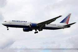 Boeing 767-3P6(ER) Transaero Airlines EI-UNA